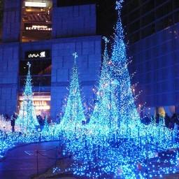 東京都港区新橋 日テレ 電飾 無料写真素材 あみラボ