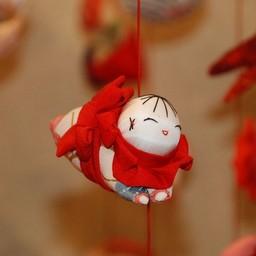静岡県賀茂郡東伊豆町 稲取温泉 雛のつるし飾り その他 無料写真